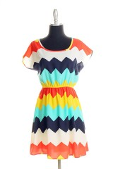 Chevron Dress $38